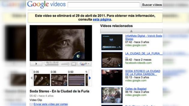 Google Video dejará de existir el próximo 29 de abril