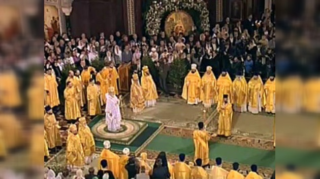 Misa navideña oficiada por el Patriarca ruso, en vivo en RT