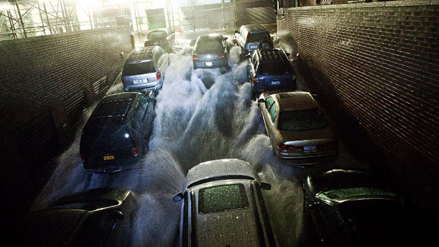 La ´súper tormenta´ Sandy toca tierra en el sur de Nueva Jersey