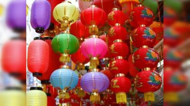 Celebran la Fiesta de los Faroles en China
