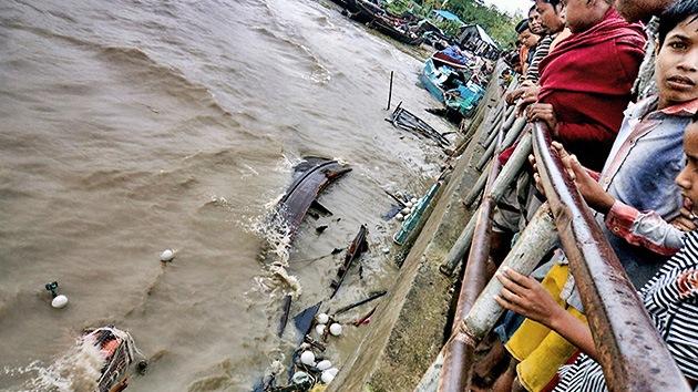 Bangladés: 1.500 pescadores desaparecidos tras tormenta tropical