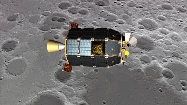Robot orbital de la NASA cae en la superficie lunar inmediatamente después del eclipse