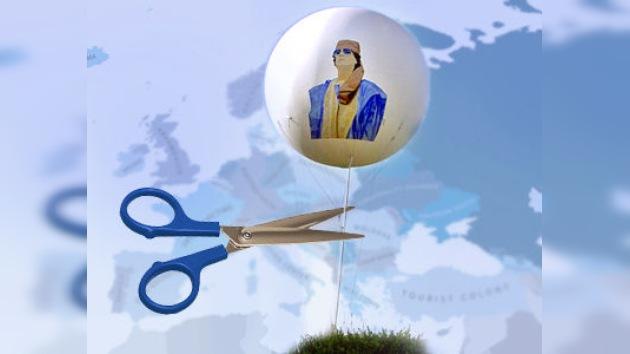 """Gaddafi podría negociar con Europa su marcha"", según diplomáticos belgas"
