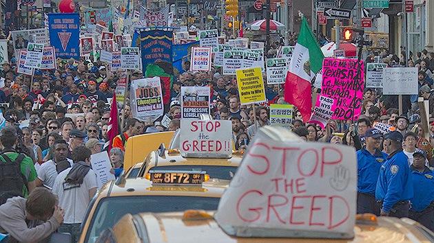 EE.UU.: La condena a una activista de Ocupa Wall Street causa indignación