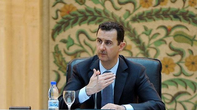 Bashar Assad lamenta el derribo del avión turco