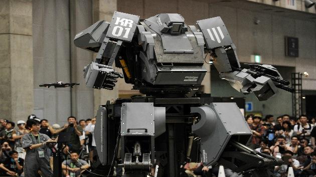 Kuratas, un monstruo-robot de 'armas tomar'