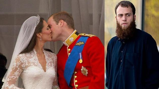 Detienen en Londres al islamista que soñaba con frustrar la boda del príncipe Guillermo