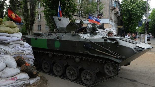 Potentes explosiones se escuchan en la ciudad ucraniana de Slaviansk