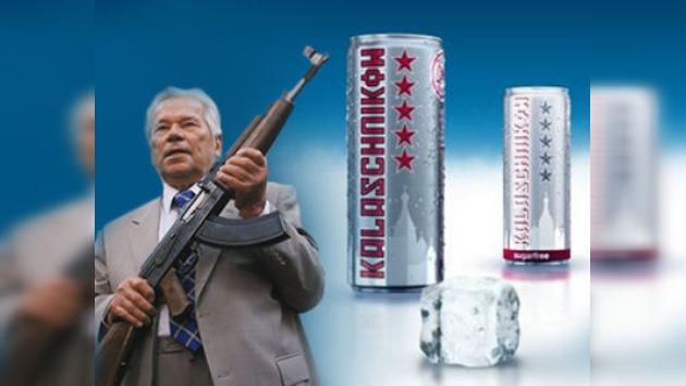 Prohíben explotar la marca Kaláshnikov en latas de bebidas energéticas