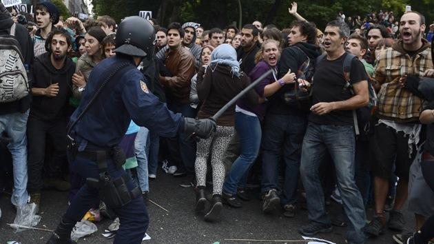 La mayoría de los españoles cree que habrá violencia si la economía no mejora