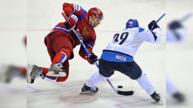 Rusia pierde las semifinales del Mundial de Hockey y Finlandia disputará el oro con Suecia