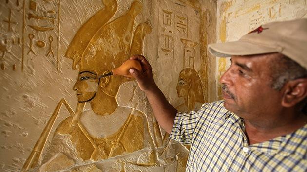Un cementerio egipcio podría esconder un tesoro mayor que el de Tutankamón