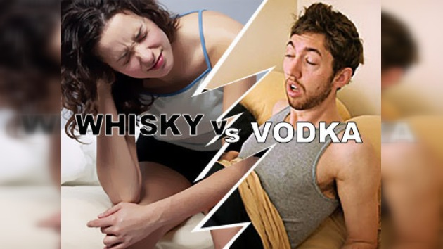 ¿Whisky o vodka?