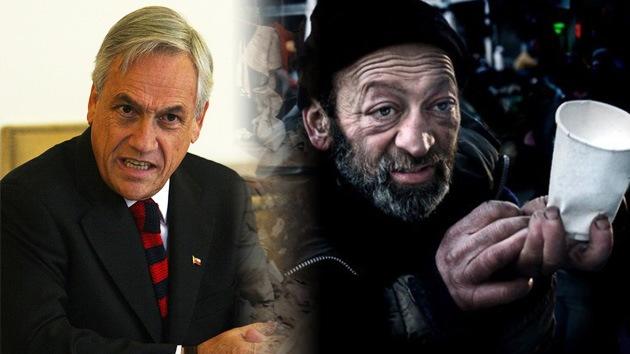 """Piñera reconoce que la pobreza en Chile alcanza """"niveles escandalosos"""""""