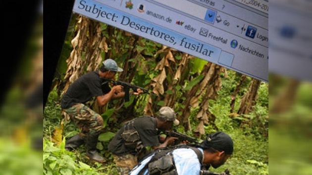 Las FARC ejecutan a los desertores, según los correos de 'Mono Jojoy'