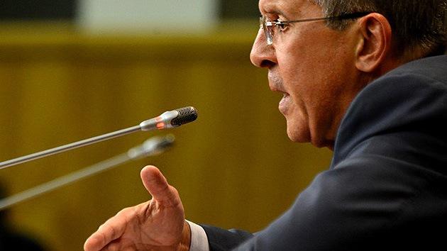 """Rusia aboga por la vía diplomática en Siria para """"no repetir los errores del pasado"""""""