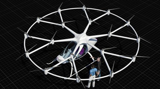 Llega el Volocopter: el helicóptero eléctrico realiza su primer vuelo