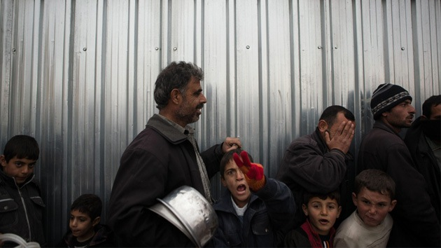 Un millón de sirios está desatendido por el programa de alimentos de la ONU