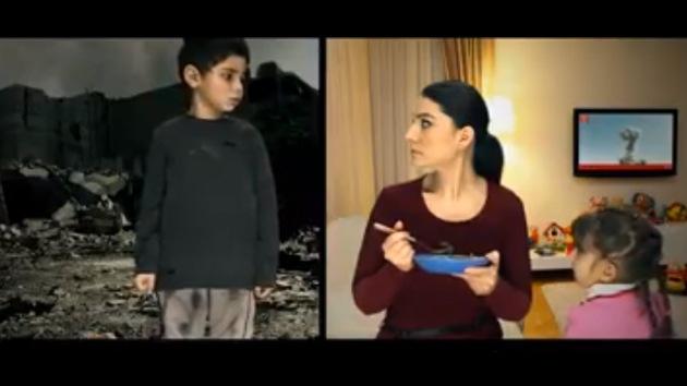 Conmovedor video que muestra el sufrimiento de niños sirios que no deja indiferente