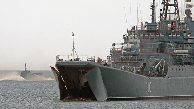 Rusia comienza una demostración de fuerza frente a las costas de Siria