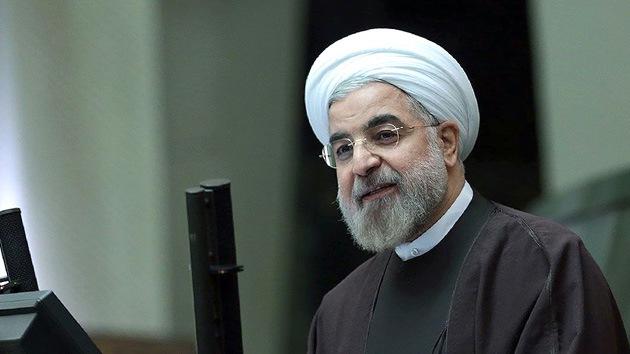 Presidente de Irán: El acuerdo nuclear ha ayudado a la economía