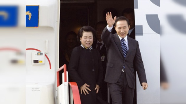 El presidente de Corea del Sur llega a México en visita oficial