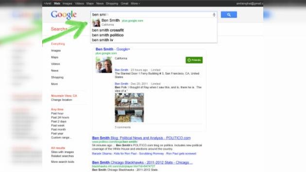 Google se 'personaliza' mientras Twitter se 'indigna'