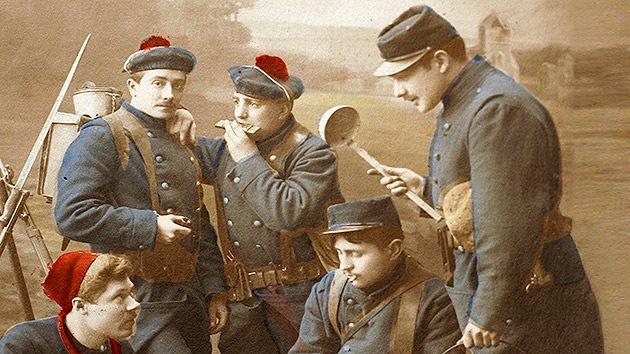 Video: El cuarto de un soldado de la Primera Guerra Mundial, congelado en el tiempo