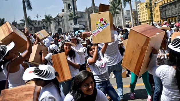 Video: Perú establece un nuevo récord Guinness musical