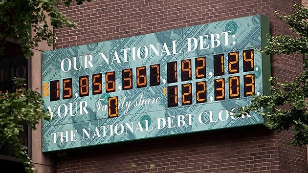 La deuda de EE.UU. se dispara a niveles de la Segunda Guerra Mundial
