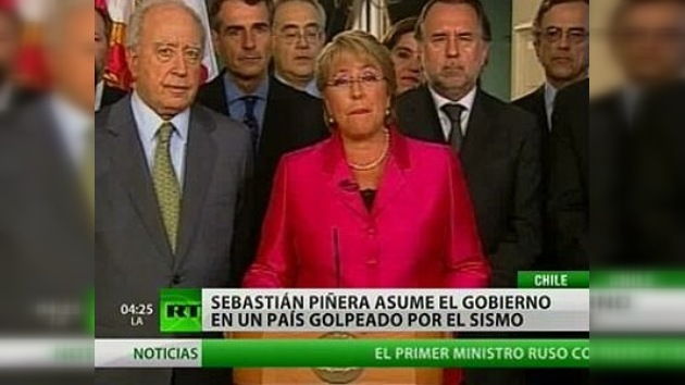 Michelle Bachelet se despide del poder