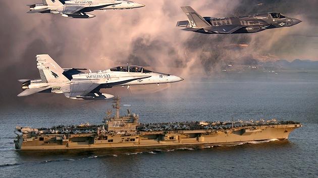 EE.UU. despliega un centenar de aviones en el Golfo para bombardear al Estado Islámico