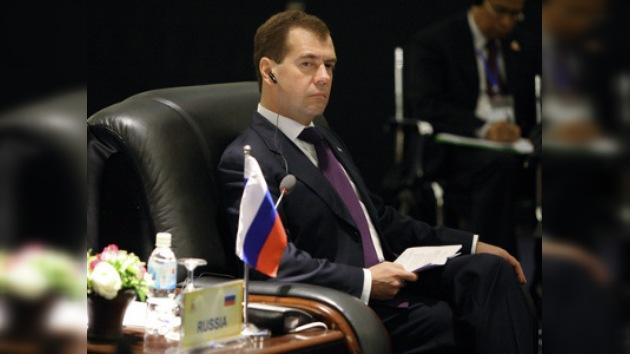 Dmitri Medvédev dice que supo desde el principio quién era el topo