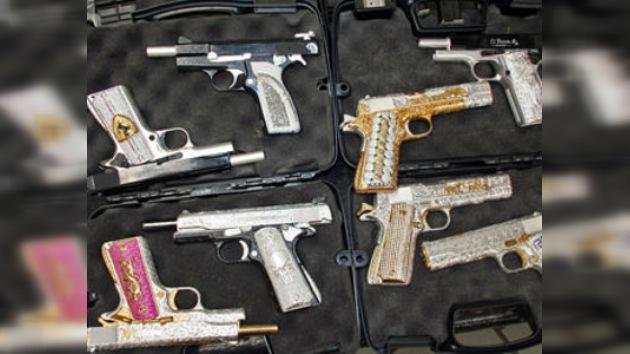 Confiscan el arsenal de lujo de un cártel de drogas mexicano