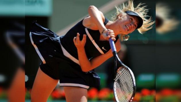 Sharápova comienza con buen pie el torneo de Cincinnati