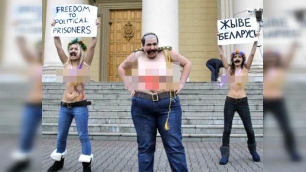Aparecen feministas ucranianas 'perdidas' en Bielorrusia