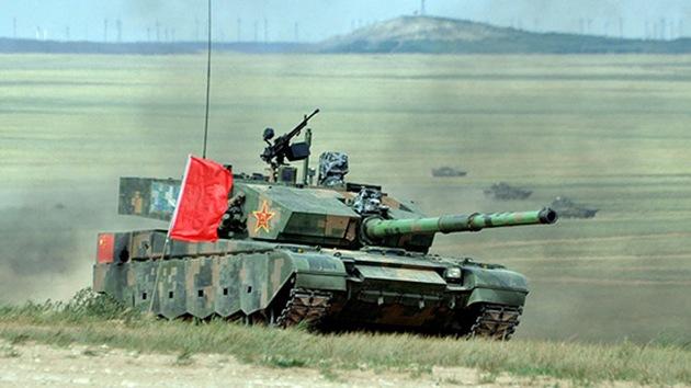 Los militares chinos estrenan su tanque más moderno