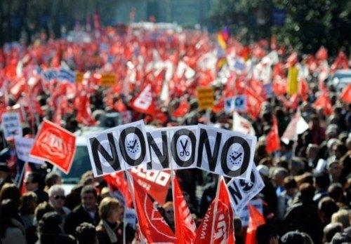 España 'hierve' contra la reforma laboral