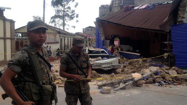 Video: Primeras imágenes del terremoto de 7,5 grados en Guatemala