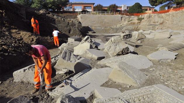 El mausoleo de 'Gladiator', a punto de ser enterrado por los recortes en Italia