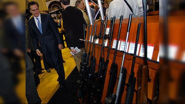 Mitt Romney prometió proteger a los propietarios de armas de EE. UU.