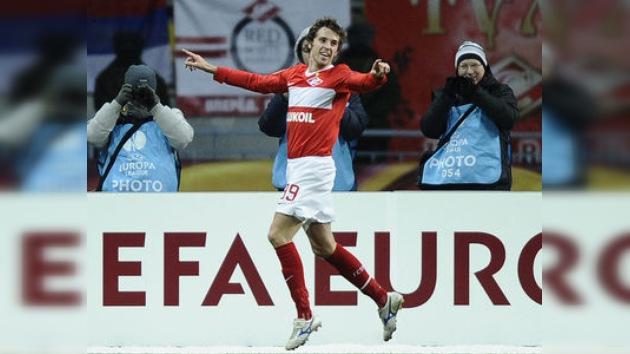 Spartak liquida al Ajax en la Liga Europa. Zenit y CSKA quedan fuera