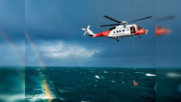 El príncipe Guillermo rescata a los marineros rusos naufragados en Irlanda