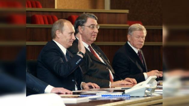 Putin conoció las celebraciones del Año de la Cosmonáutica en Rusia