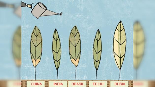 Los países del BRIC atraen las inversiones globales