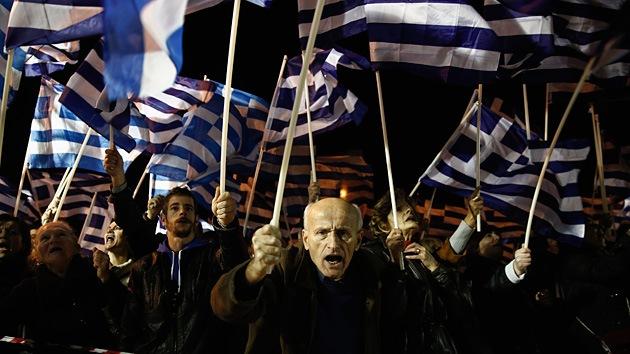 El partido neonazi griego Amanecer Dorado participará en las elecciones al Parlamento Europeo