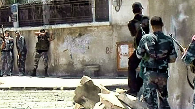 Siria: Fuertes enfrentamientos cerca de la sede del Gobierno en Damasco