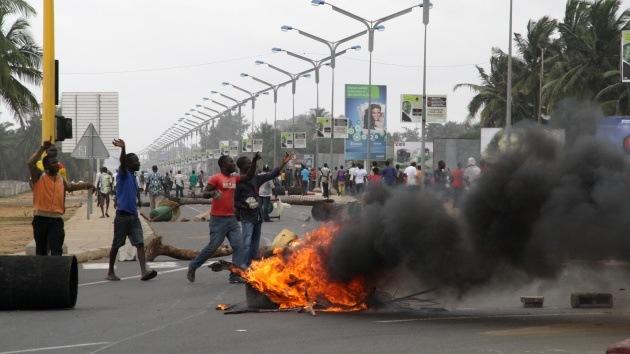 Las mujeres de Togo se declaran en huelga de sexo para exigir la dimisión del presidente