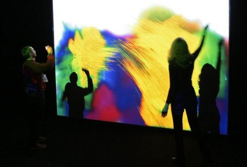 Festival de instalaciones interactivas en San Petersburgo