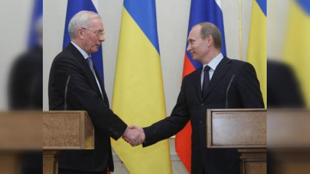 Los primeros ministros ruso y ucraniano discuten proyectos conjuntos